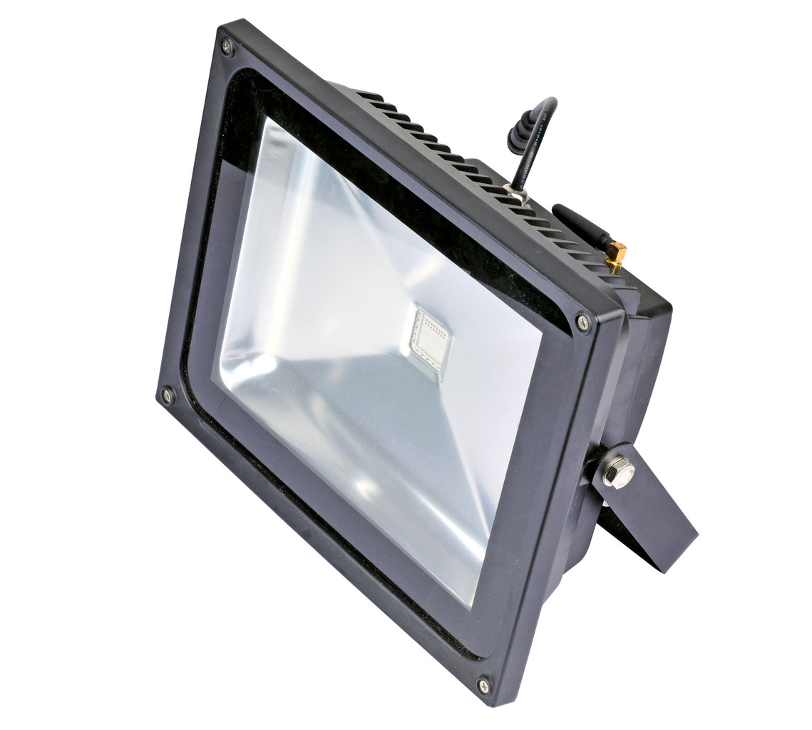 Led Flood Light Noise: LED RGB DMX Outdoor Floodlight 30W